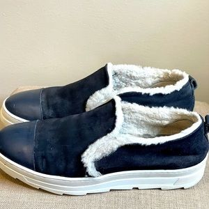 JOYKS LEATHER/SUEDE MADE IN ITALY SLIP ON …